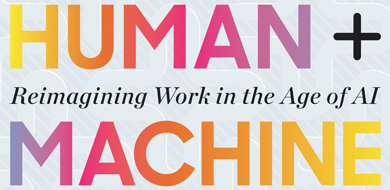 Human + Machine Book Cover